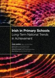 Irish in Primary Schools Long Term National ... - Gaelscoileanna