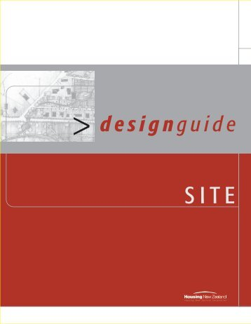 Design Guide - Site - Housing New Zealand