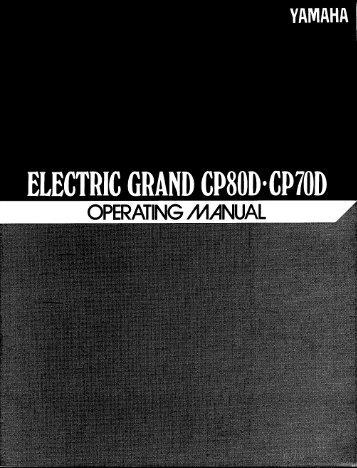 CP-80D - Yamaha