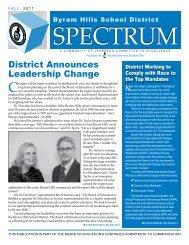 Fall 2011 - Byram School District