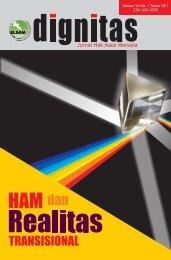 Jurnal DIGNITAS Edisi HAM dan Realitas Transisional - Elsam