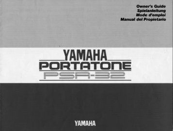 YA|v|AHA - Yamaha