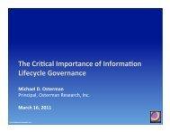 OR Presentation for IBM Webinar, draft 2.pptx - Osterman Research