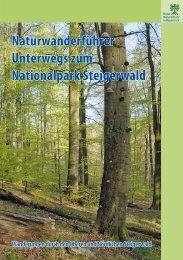 Naturwanderführer Unterwegs zum Nationalpark Steigerwald