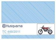TC 449/2011 - Husqvarna