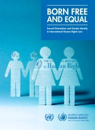 Born Free and Equal - Office of the High Commissioner on Human ...