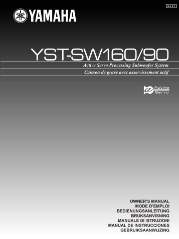 YST-SW90 - Yamaha