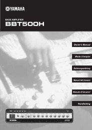 BBT500H - Yamaha