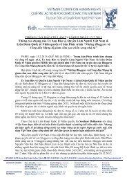 Tcbc 2013.02.13 - Phuc trinh ve cac Bloggers bi cam tu - Action for ...