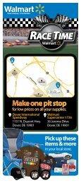 Make one pit stop ne pit stop - Dover International Speedway
