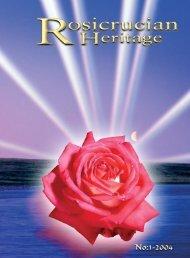 Rosicrucian Heritage Magazine - 2004-03 - AMORC