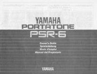 Congratulations! - Yamaha