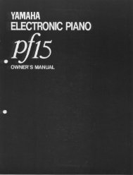 PF15 - Yamaha
