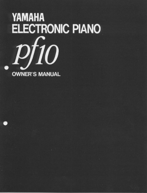 PF10 - Yamaha