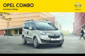 Opel Combo 2012 – Instrukcja obsługi – Opel Polska