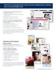 PROFITEZ AU MAXIMUM DES PUBLICATIONS ... - Amway