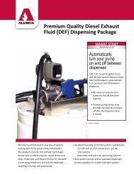 Diesel Exhaust Fluid Dispenser - Ctequipmentguide.ca