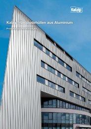 Kalzip® Gebäudehüllen aus Aluminium