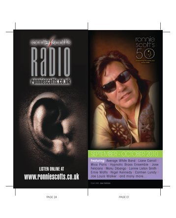 RS Sept-Oct Brochure_Layout 1 - Ronnie Scott's Jazz Club
