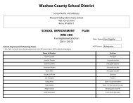 Part I - Washoe County School District