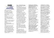 piscator psalm 23 - Sepher-Verlag Herborn