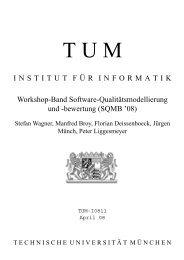 ÀÁÂ ÃÄÅÆÇ - Software and Systems Engineering - TUM