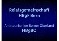 die Folien - Relaisgemeinschaft HB9F