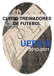 2010-2011 CURSO TREINADORES DE FUTEBOL - A. F. Evora