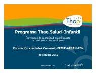 Programa Thao Salud-Infantil