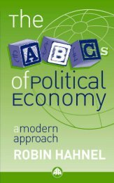 The ABCs of Political Economy : A Modern Approach
