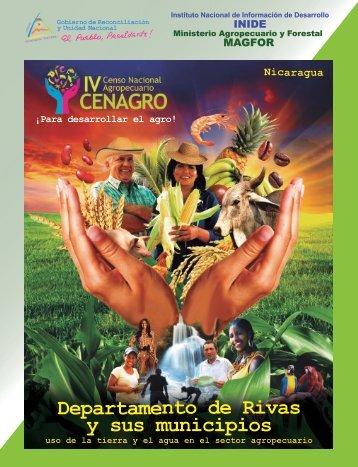 Departamento de Rivas y sus municipios - magfor