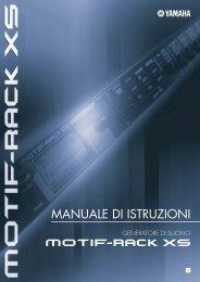 MOTIF-RACK XS Owner's manual - Yamaha