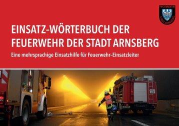 Einsatz-Woerterbuch FF Arnsberg