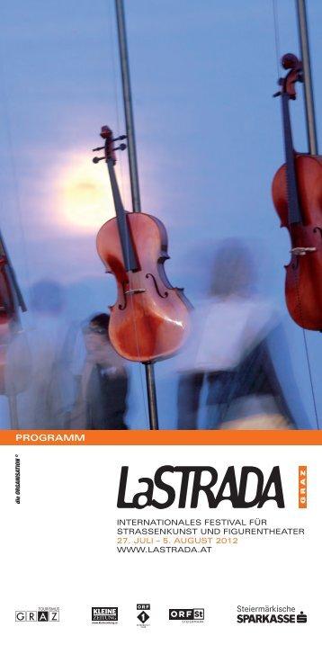 Programmfolder 2012 - La Strada