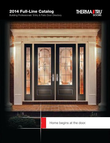 2013 Full-Line Catalog - Huttig Building Products