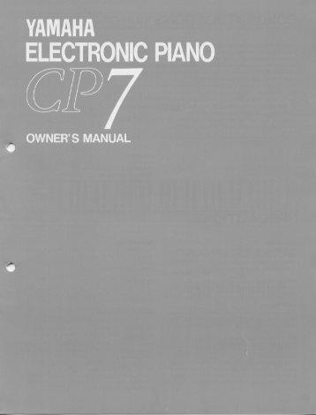 CP7 - Yamaha
