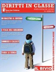 Diritti in Classe - N. 3 - Giugno 2012 - Save the Children Italia Onlus