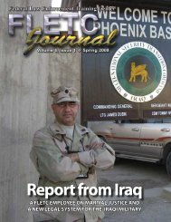 Report from Iraq - Council of the Inspectors General on Integrity and ...