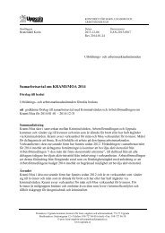 4.6 Samarbetsavtal om KRAMI/MOA 2014 - Uppsala kommun