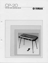 CP-20 - Yamaha