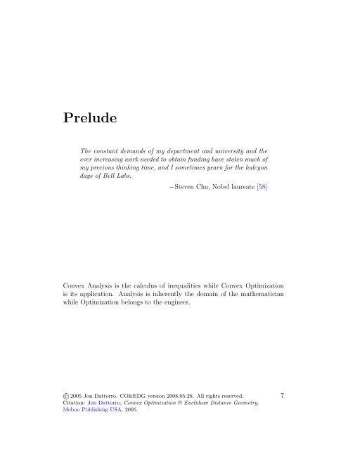 v2008.05.28 - Convex Optimization