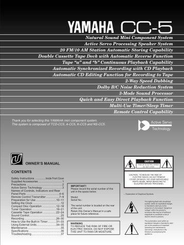 Tape - Yamaha