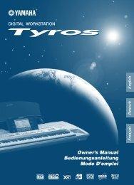 tyros - Yamaha