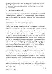 Erläuterungen zur Stellungnahme - Gewässer - Bürgerinitiative ...