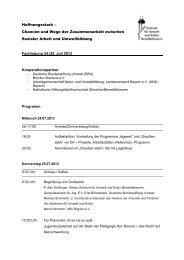 Programm (Download) - Zentrum für Umwelt und Kultur ...