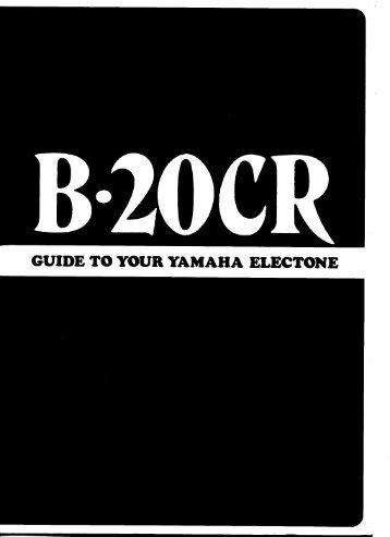 B-20CR - Yamaha