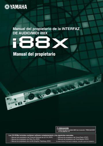 Manual del propietario - Yamaha