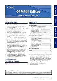01V96i Editor Owner's Manual - Yamaha
