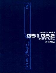 GS2 - Yamaha