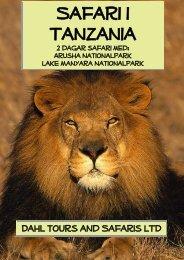 Tanzania resa med 2 dagar safari - Dahl Safaris